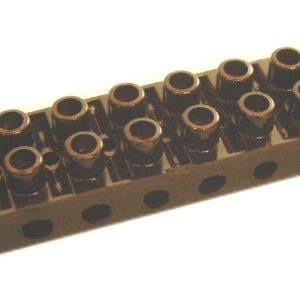 12 位 黑 色 電 木 接  膠 玉