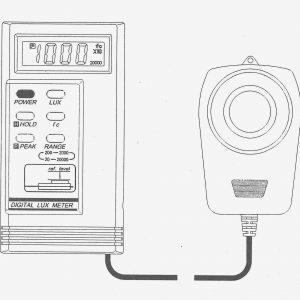 TES數 碼 式 測 光 錶