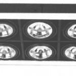 AR111石英鐵杯/CDM-T/CDM-R組合藏天花射燈系列
