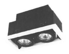 MR16石英杯膽組合藏天花射燈系列(合金邊)